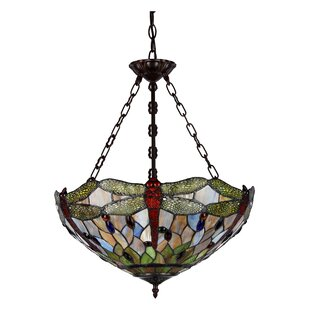 Astoria Grand Marylhurst 3-Light Bowl Pendant