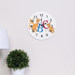 Dr Seuss Abc 11 Wall Clock