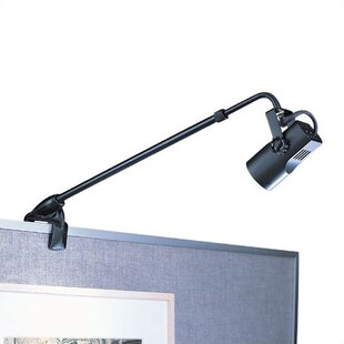 WAC Lighting Adjustable Clamp 1-Light Frame Mounted Picture Light