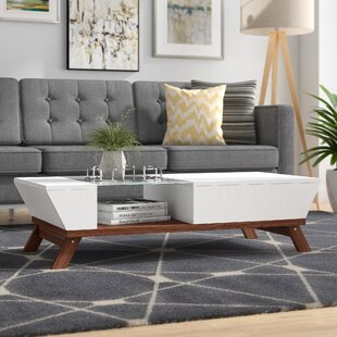 Soto Coffee Table with Tray Top by Mercury Row