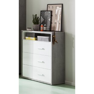 Mipiace 3 Drawer Chest By Ebern Designs