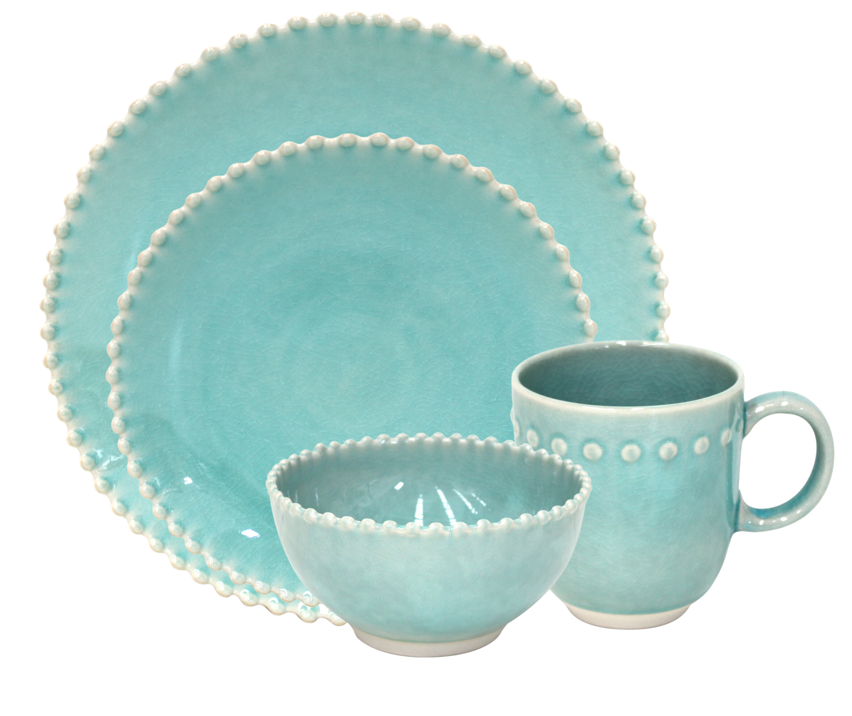 Pearl 7 Piece Place Setting Set, Service for 7