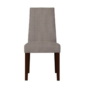 Haddonfield Cotton Parsons Chair (Set of 2) by Latitude Run