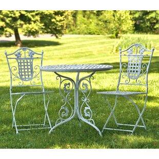 Glazier Iron Bistro Table By Astoria Grand
