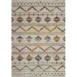 Pugh Southwestern Beige Indoor/Outdoor Area Rug