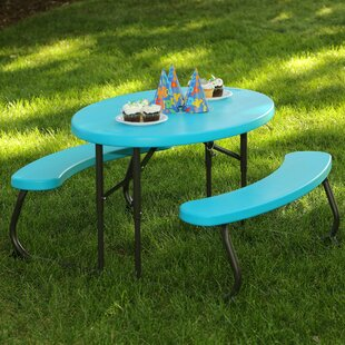 3 Piece Picnic Table And Bench Set