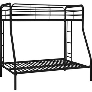 Twin over Full Bunk Bed by Hodedah