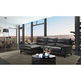 Litten Leather Sectional