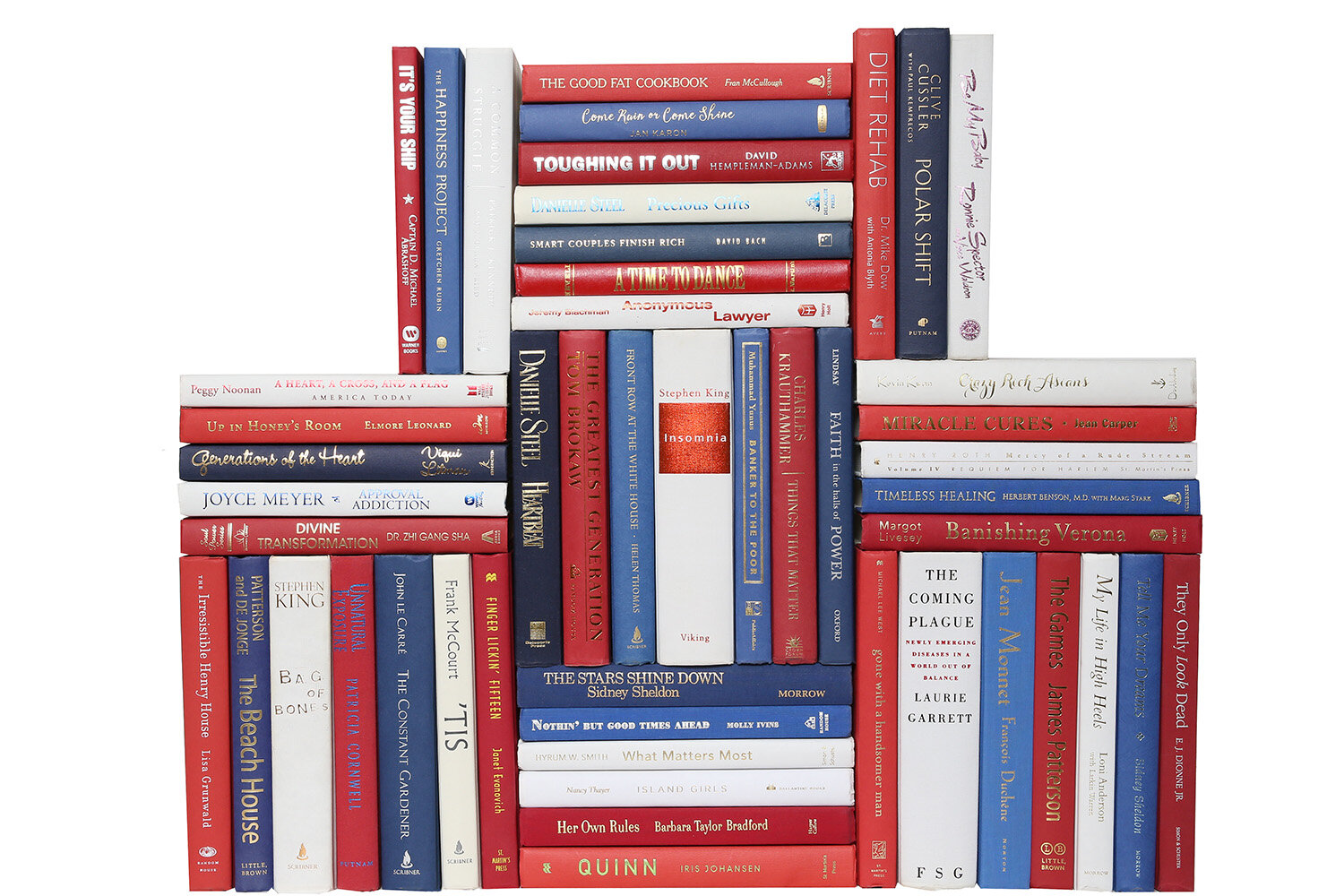 booth williams authentic decorative books by color modern
