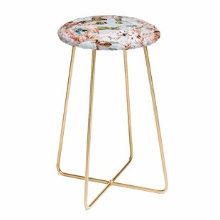 Marta Barragan Camarasa Wild Botanical Garden I 30 Bar Stool by East Urban Home Spacial Price