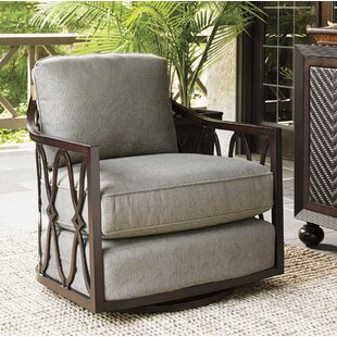 Tommy Bahama Outdoor Sands Swivel Patio Chair with Cushion
