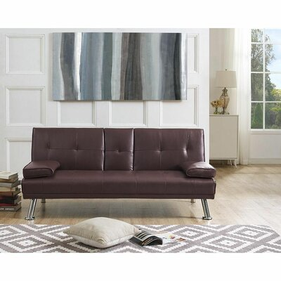 Faux Leather Sofas You Ll Love In 2020 Wayfair