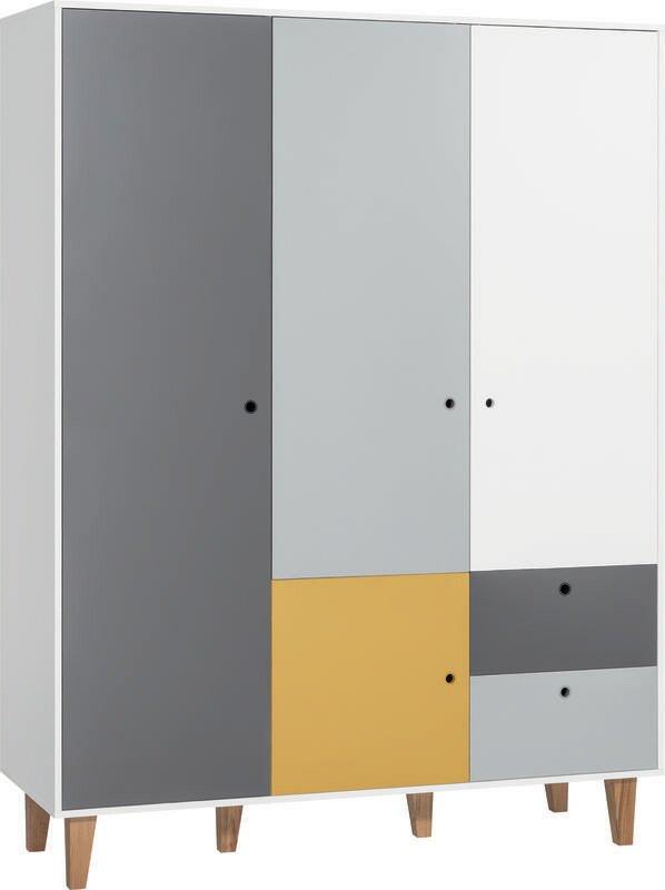 Meble Vox Concept 3 Door Wardrobe & Reviews | Wayfair.co.uk