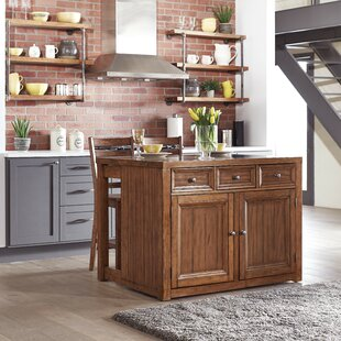 Milford Kitchen Island Set Canora Grey