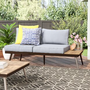 Bendale Contemporary Loveseat with Cushion