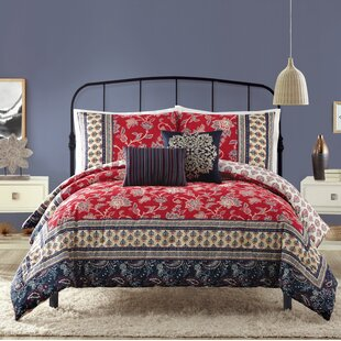 Hofer Cotton 5 Piece Reversible Comforter Set by Bungalow Rose