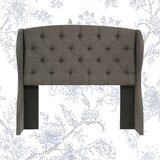 Sornson Upholstered Wingback Headboard by Darby Home Co
