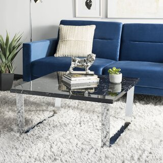 Arete Coffee Table with Tray Top by Mercury Row SKU:CE484947 Purchase
