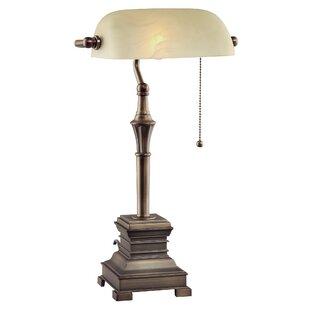 Bankers lamp replacement shade wayfair malone 19 banker lamp aloadofball Images