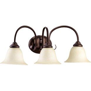 Compare Bernardston 3-Light Vanity Light By Fleur De Lis Living