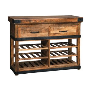 McLaurin Floor Wine Bottle Rack by Loon Peak