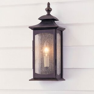 Deals Barson 1-Light Outdoor Flush Mount By Darby Home Co