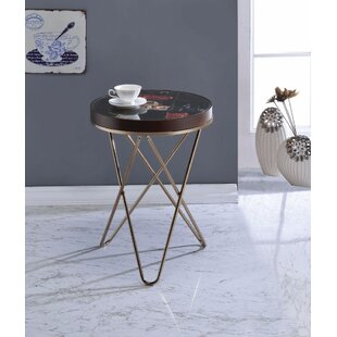 Pokorny End Table by Union Rustic