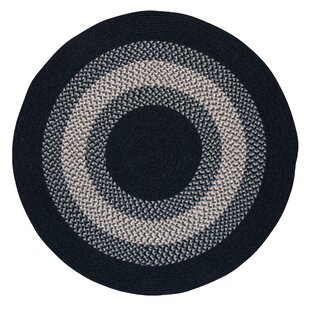 Serafin Wool Navy Area Rug by August Grove