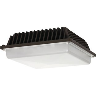 58-Watt LED Outdoor Security Wall Pack by Nuvo Lighting
