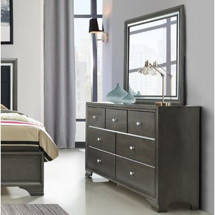 House of Hampton Sirenuse 7 Drawer Dresser w..
