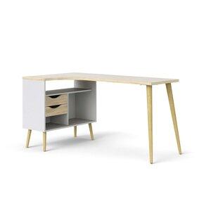 Mateer Wood L-Shape Computer Desk
