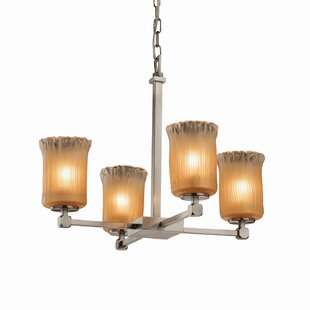 Darby Home Co Kelli 4-Light Shaded Chandelier