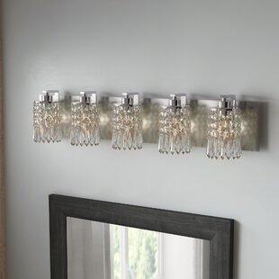 Lark Manor Descoteaux 5-Light Vanity Light