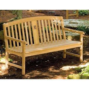 signature series wood garden bench