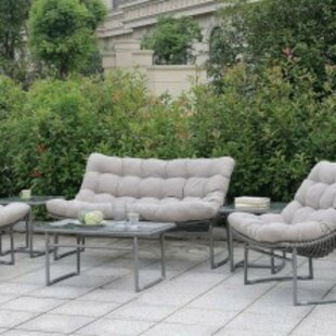 Ashmore 5 Piece Sofa Seating Group with Cushions