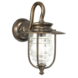 Great Outdoors by Minka Spyglass Cove 1-Light Outdoor Barn Light