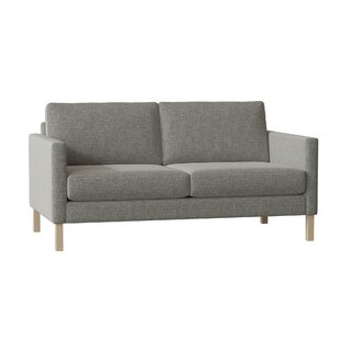 Metro 65 Square Arm Loveseat by Hekman