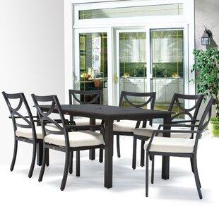 Meadow Decor Verona 7 Piece Dining Set wi..