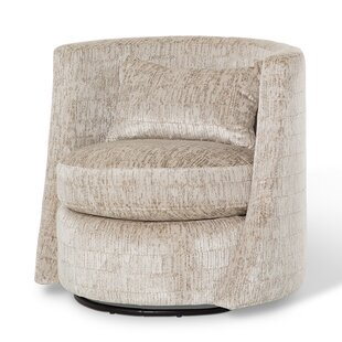 Studio Swivel Barrel Chair
