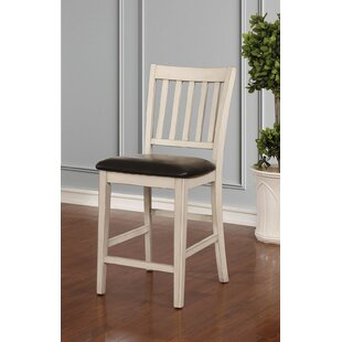 Hinkle 25 Bar Stool (Set of 2) Breakwater Bay