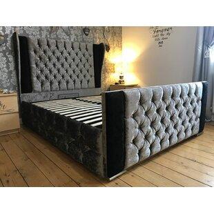 Breanna Wing Upholstered Bed Frame By Rosdorf Park