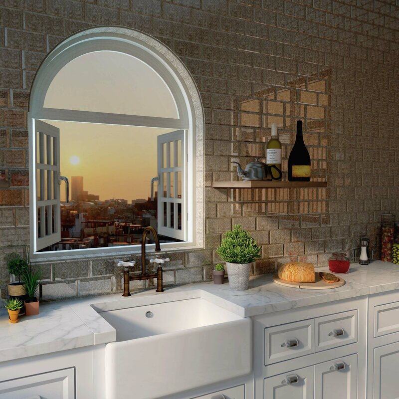 Lumin 3 X 6 Gl Subway Tile In Antique Mirror