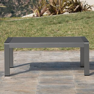 Crosstown Aluminum Coffee Table