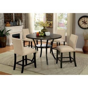 Rigby 3 Piece Counter Height Dining Set by Alcott Hill Cool