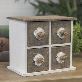 Compare 4-Drawer Jewelry Box ByOne Allium Way