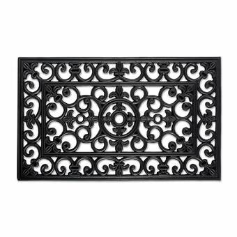 Alcott Hill Lasseter Blocks Non Slip Outdoor Door Mat Reviews Wayfair