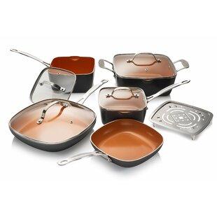 10 Piece Non-Stick Cookware Set