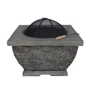 Emrich Concrete Wood Burning Fire Pit By Orren Ellis