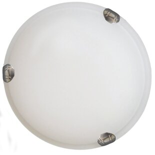 Best Reviews Gympie 1-Light Flush Mount By Ebern Designs