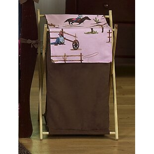 Sweet Jojo Designs Cowgirl Laundry Hamper